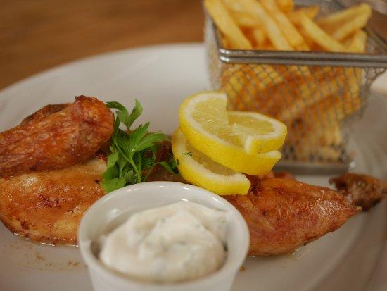 Alvechurch, UK: Half Rotisserie Chicken Roasted In Lemon + Garlic Served With Skinny Fries + Aioli
