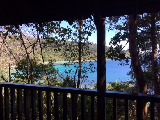Bunga Raya Island Resort & Spa: View from balcony