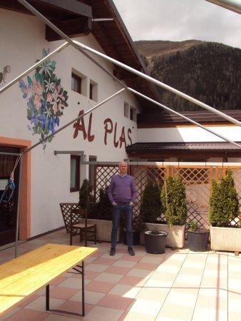 Terrazza panoramica - Picture of Agriturismo Al Plas, Brescia ...