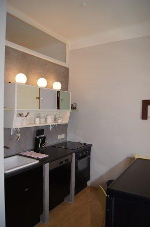 Altstadthaus Cityappartements: Amalias Küche / Amalia's kitchen