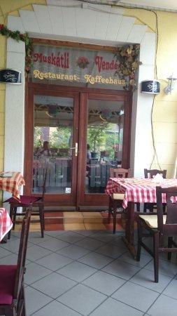 Muskatli Restaurant : Ресторан