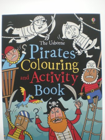 Holetown, Barbados: Pirate colouring book