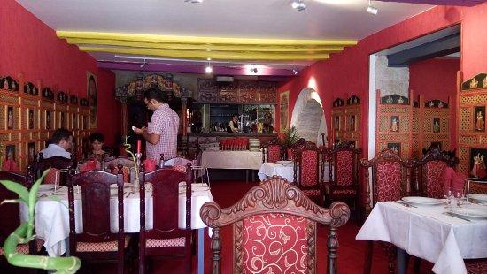 La décoration du restaurant photo de le maharaja dijon