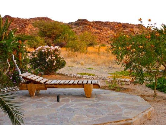 Usakos, Namibia: Terrasse