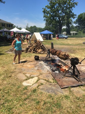 West Brookfield, MA: Drovers roast Father's Day