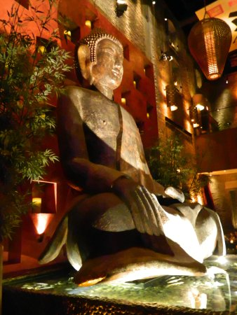 Buddha Statue In Tao Restaurant Picture Of The Palazzo