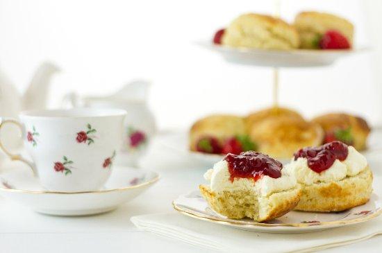 Σλέιν, Ιρλανδία: Afternoon Tea in The Tea Garden