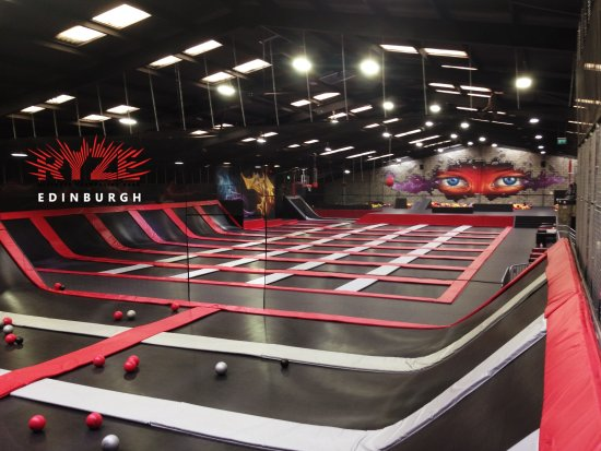 Dalkeith, UK: Come and get your thrills at Ryze Edinburgh!