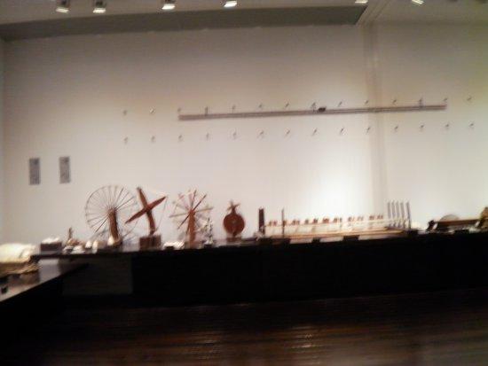 Chita, Japonya: 織物器械の展示