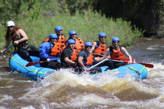 A-1 Wildwater Rafting: Sideways!