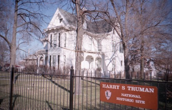 Independence, MO: The Harry S Truman National Historic Site from the street