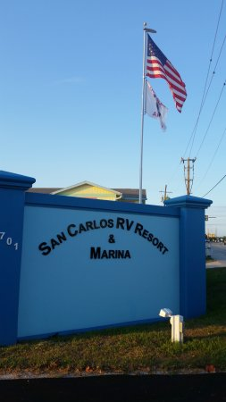 San Carlos R.V. Park & Islands: Welcome Home
