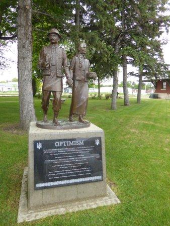 Dauphin Rail Museum: Memorial