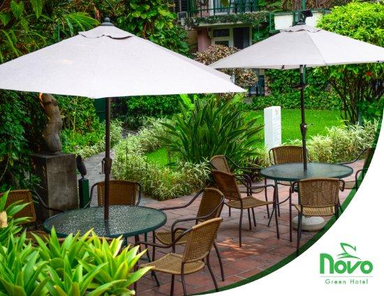 Novo Hotel & Suite: jardines