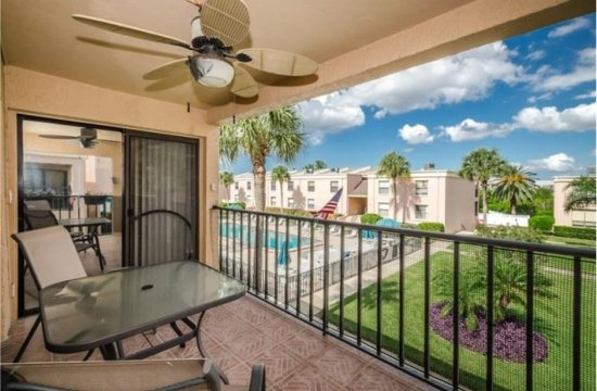 Sea Club Rentals: Balcony/Pool View