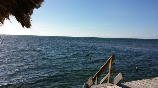 Corona del Mar Hotel & Apartments: Swimming area off the and of the dock.