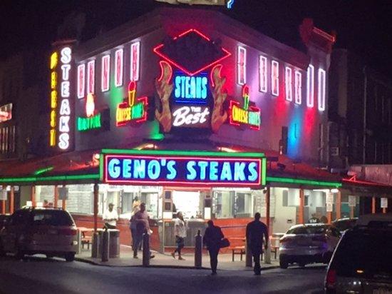 Geno's....