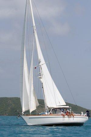 Spanish Town, Virgin Gorda: Out past Necker Island