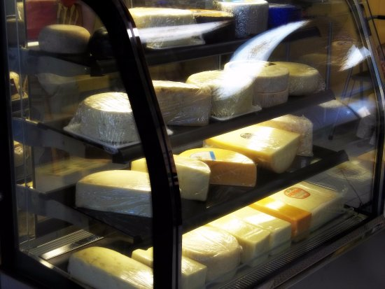 Wausau, Wisconsin: Close to 100 varieties of cut-to-order cheese