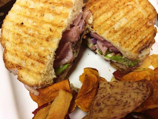 Wausau, Wisconsin: Seasonal favorite: Ham & Brie Panini
