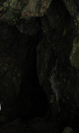 Sohra, India: inside the cave
