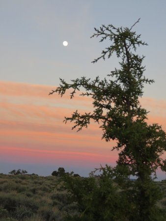 Inyo National Forest : sunsets from the campground