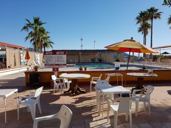 Las Palmas Hotel: la alberca del hotel