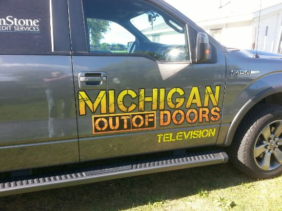 Lagoon Resort & Motel : A visit from Michigan Out of Doors.
