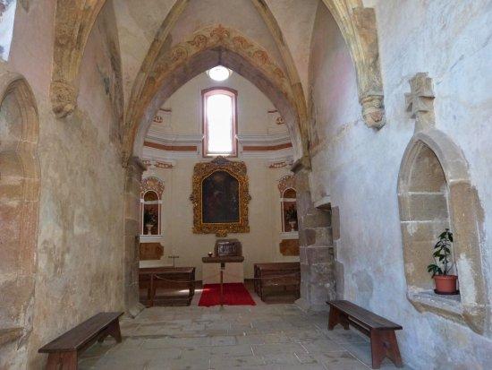 Vysocina Region, جمهورية التشيك: Interiér hradní kaple.