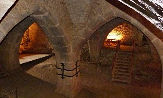 Vysocina Region, جمهورية التشيك: Hradní podzemí