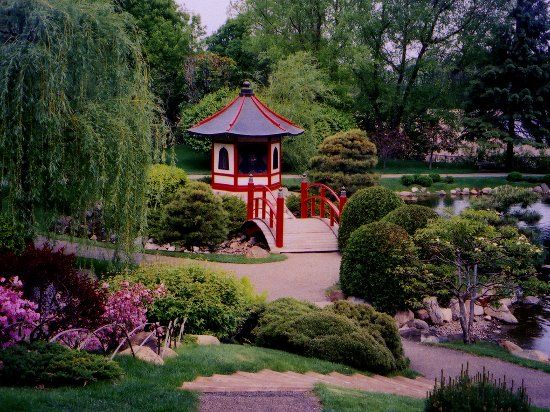 Bloomington, MN: The Japanese Garden is a two-acre oasis on the Normandale