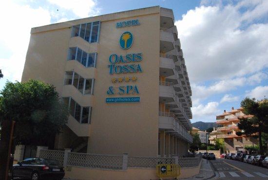 Hotel GHT Costa Brava: Fachada pricipal Hotel.