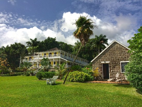 Ottley's Plantation Inn: Main Plantation House / Grounds / Cottage