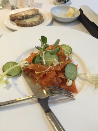 Sofitel London Gatwick: Trout starter - recommended
