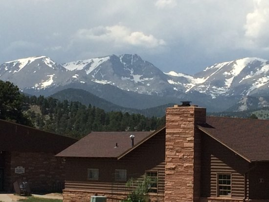 YMCA of the Rockies: Spectacular views from the YMCA grounds