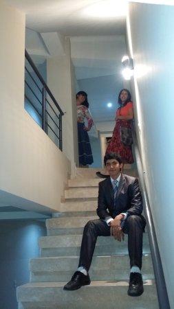 Hotel Maria Elena: escaleras