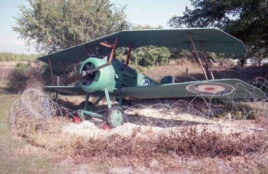 Flight Excursions Private Tours: Sopwith Camel (replica)