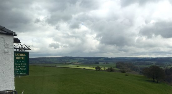 Over Haddon, UK: Looking one way, towards a lovely hike.