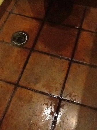 Bel Air Collection Xpu Ha Riviera Maya: baños con piso mojados y enlodados