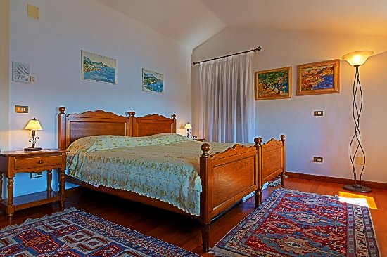 Villa Tuttorotto: Double Room Sea View