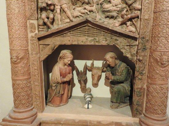 Presepe di ceramica invetriata - Foto di Palazzo Pianetti, Jesi