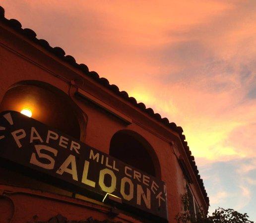 Forest Knolls, Kalifornien: Papermill Sunset