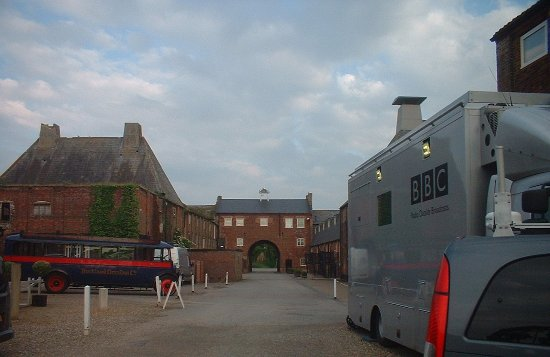 Snape, UK: No vehicles allowed except Ermintrude & the BBC so that early morning birdsong could be enjoyed
