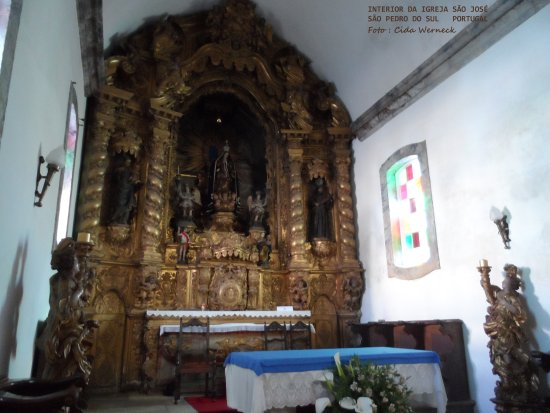 Sao Pedro do Sul, Portogallo: Interior da Igreja de São José em São Pedro do Sul,Portugal   Foto: Cida Werneck