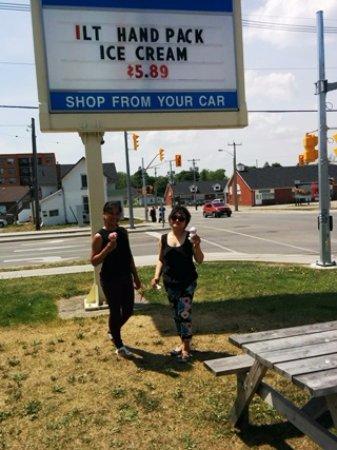 Lindsay, Canadá: I scream for ice cream!