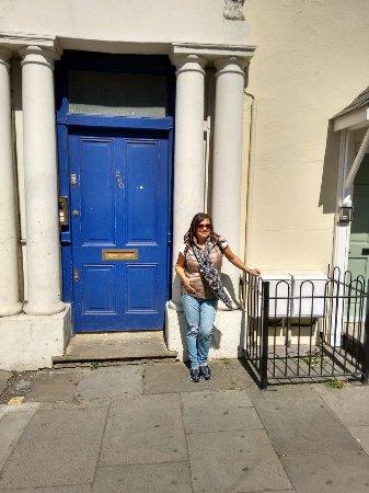 Notting Hill : La famosa puerta azul de la película
