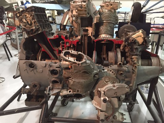 The Aviation Museum of Kentucky: Wright R-3350 radial engine