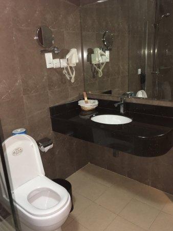 Seascape Hotel: Bathroom