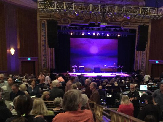 The Uptown Theatre: View from row S