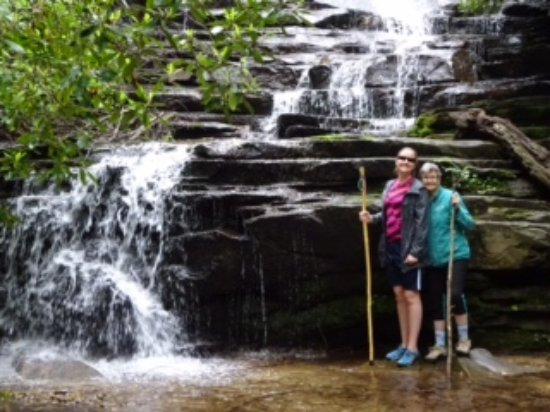 Lakemont, GA: Lower portion of Panther Falls (on the way to Angel Falls)